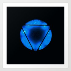 Arc Reactor Art Print