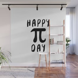 Happy Pi Day Wall Mural