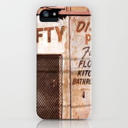 Thrifty iPhone Case