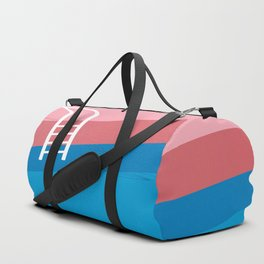 Retro swim - summer vibes Duffle Bag