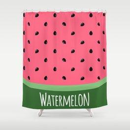 Summer Watermelon Shower Curtain