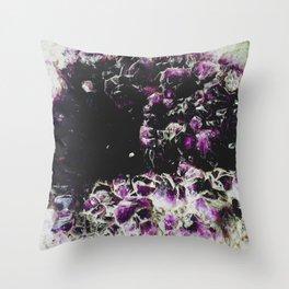 Amethyst: Specimen VIII Throw Pillow
