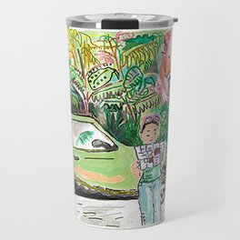 Dino Trouble Travel Mug