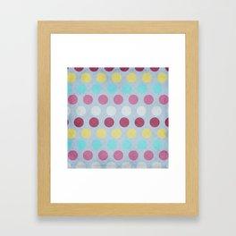 AWLO Dots  Framed Art Print