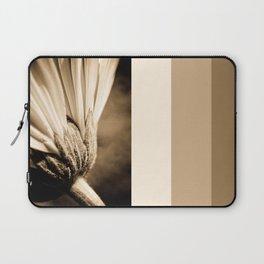 Sepia Gerbera Laptop Sleeve