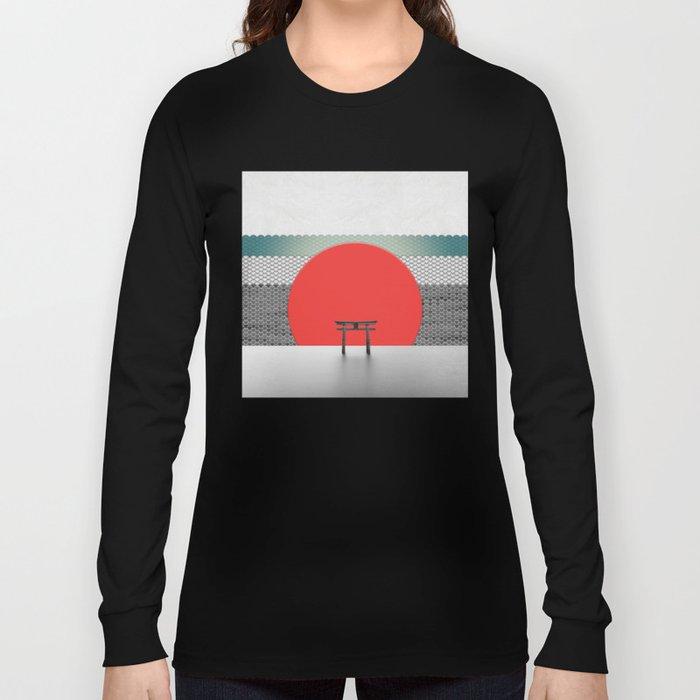The Red Sun Long Sleeve T-shirt