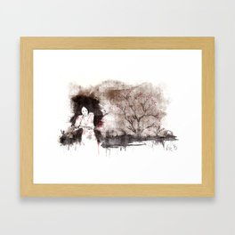 Derrotar al enemigo (color version) Framed Art Print