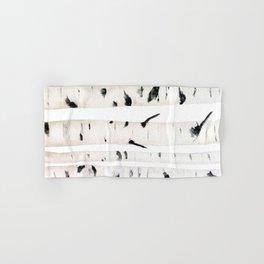 birch  watercolor Hand & Bath Towel