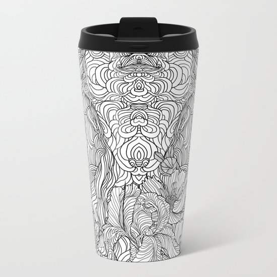 Trance Metal Travel Mug