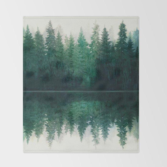 Reflection Throw Blanket