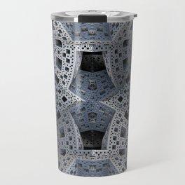 Fractal Art - spaceship drive Travel Mug