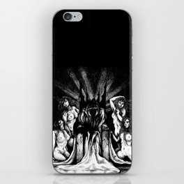 Evil King on Throne iPhone Skin