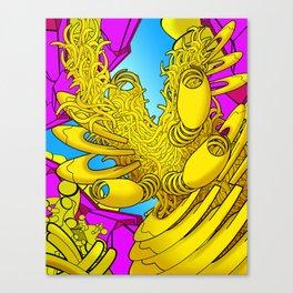 AUTOMATIC WORM 2 Canvas Print