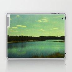Evening at the Lake Laptop & iPad Skin