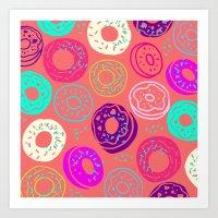Donut Shop Art Print