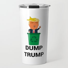 Dump Trump Travel Mug