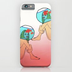 Drowning in a fish bowl iPhone 6s Slim Case