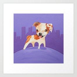 Becker's Dog Art Print