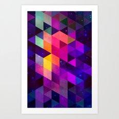 vyolyt Art Print