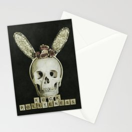 Fuck Politeness Stationery Cards