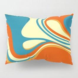 Oily Swirl Abstract Pillow Sham