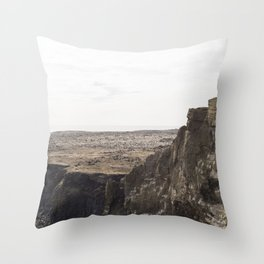 Planet West Iceland Throw Pillow