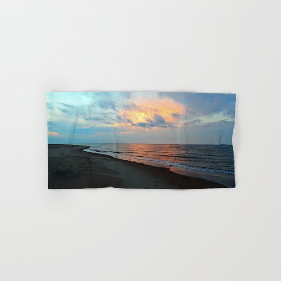 PEI Sandy Beach Sunset Hand & Bath Towel