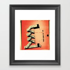 Stairs Up Framed Art Print