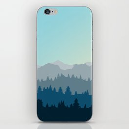 Face This Mountain (No Text) iPhone Skin