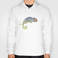 chameleon Hoodies featuring Chameleon by soycocon
