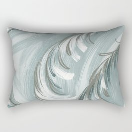 swirling feathers Rectangular Pillow
