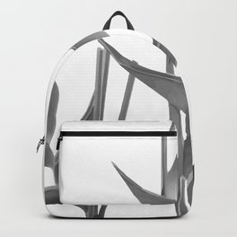 Three Heliconia black white Design Backpack