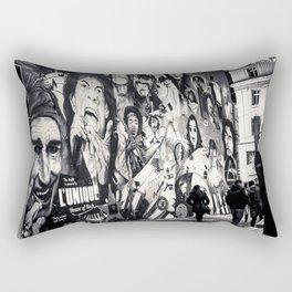 Rock n Roll Streets Rectangular Pillow
