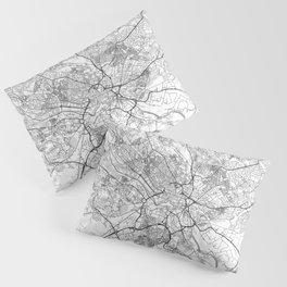 Leeds Map Line Pillow Sham