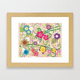 Floral Delight Framed Art Print