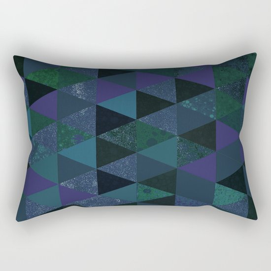Abstract #431 Rectangular Pillow