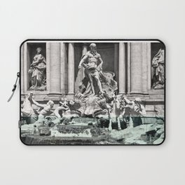Trevi Fountain Rome Italy Laptop Sleeve