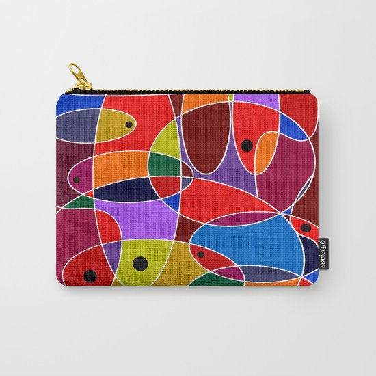 Abstract #77 Carry-All Pouch