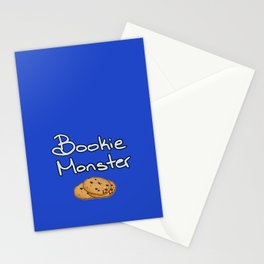 Bookie Monster Stationery Cards