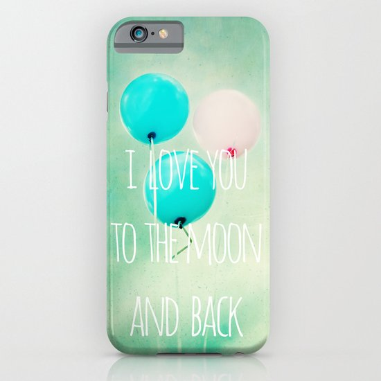 i love you to the moon and back iPhone & iPod Case