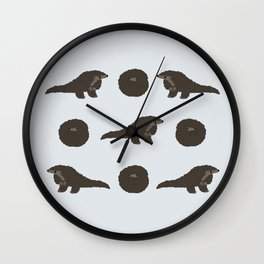 Pangolin Wall Clock