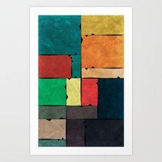 Frames of Life Art Print
