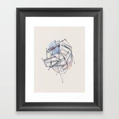 Structura II Framed Art Print