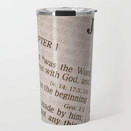 Book of John Travel Mug