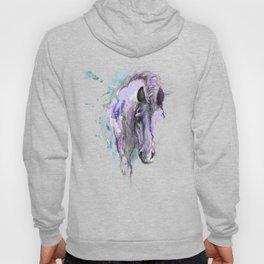 Purple Horse Hoody