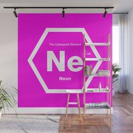 Neon Wall Mural