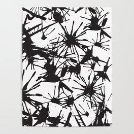 Ink Splatter 01 Poster