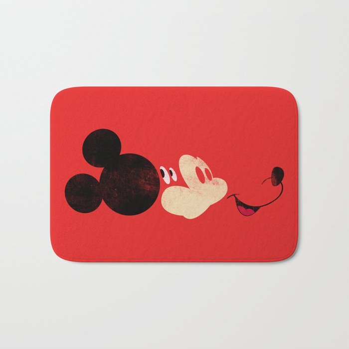Deconstructing Mickey Bath Mat