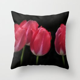 red and beautiful Throw Pillow