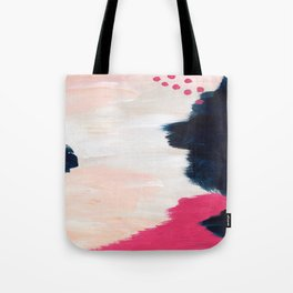In the Sand Abstract Tote Bag